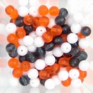 50 gram Sporty Women glaskraal mix 6mm