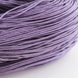 10 meter waxkoord 1,5mm dik kleur: Lavender