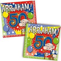 Abraham servetten, 20 stuks