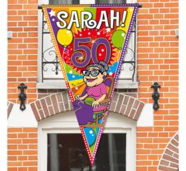 Sarah puntvlag mega