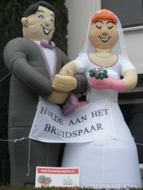 bruidspaar, ook 12 1/2, 25 en 50 jarig huwelijk