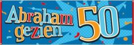 Straat banner Abraham