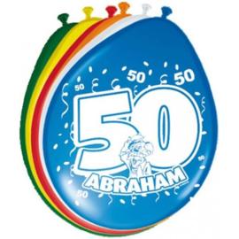 Abraham ballonnen 8 stuks per zakje