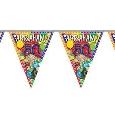 vlaggenlijn Abraham gezien