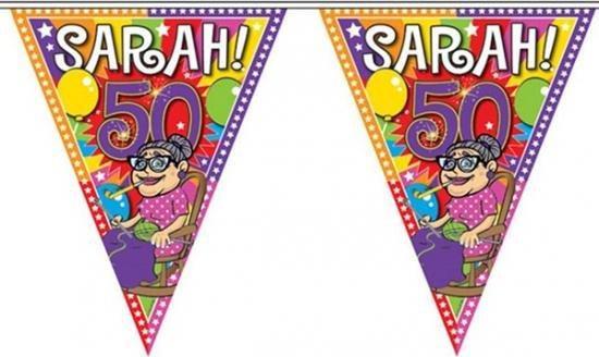 vlaggenlijn Sarah  10 meter