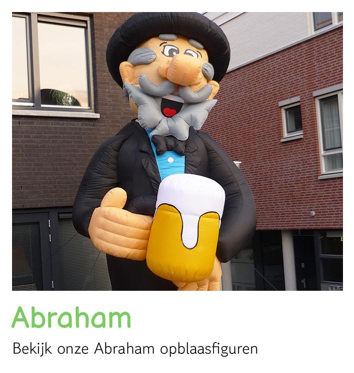 Abraham opblaasfiguur, Abraham pop huren   FeestVerhuurWijchen