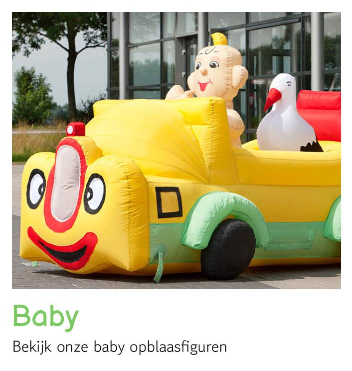 Opblaasfiguren baby huren   FeestVerhuurWijchen