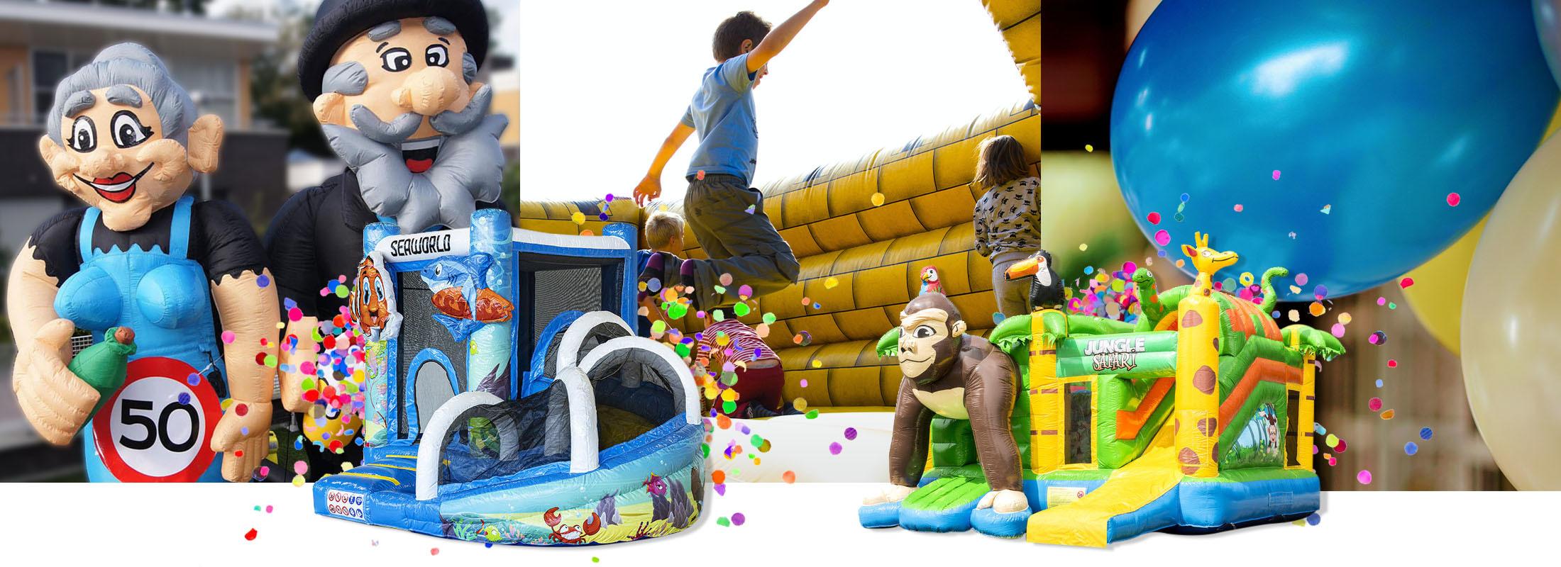 FeestVerhuurWijchen: springkussens, opblaasfiguren en feestartikelen!