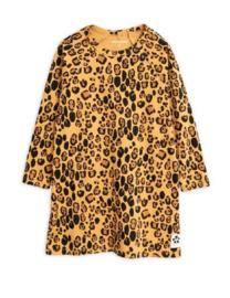 MINI RODINI / Basic leopard dress