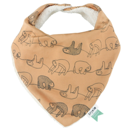 "TRIXIE / Bandana Bib  ""Silly sloth"""