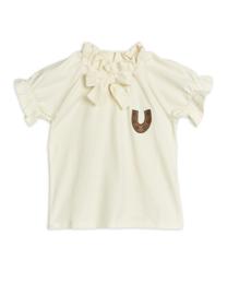 MINI RODINI / Horseshoe blouse