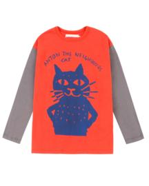 "NADADELAZOS / Shirt ""Cat"""