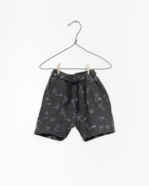PLAY-UP / Printed Flamé Jersey Shorts