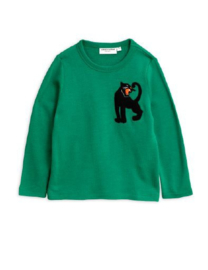 MINI RODINI /  Panther wool terry sweatshirt