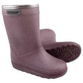 EN*FANT / Lila glitter thermo-boots LAATSTE PAAR; maat 21!