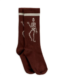 MINI RODINI /  Skeleton knee sock