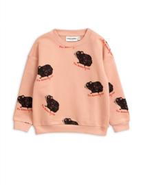 MINI RODINI / Guinea pig sweatshirt