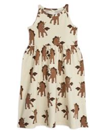 """MINI RODINI /  Tank dress """"Unicorns"""""""