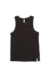 POPUPSHOP / Rib tanktop black