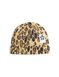 MINI RODINI / Basic Leopard beanie