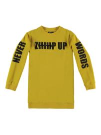 YPORQUE / Zip up sweat dress
