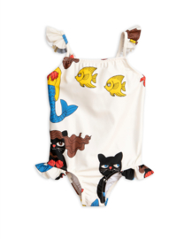 MINI RODIN /  Cat mermaid Wing swimsuit