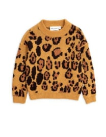 "MINI RODINI /  knitted sweater ""Leo"""