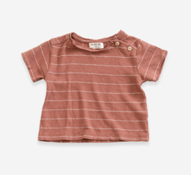 PLAY-UP / Striped Jersey T-shirt, BABY