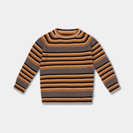REPOSE / knitted raglan sweater