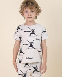 "NADADELAZOS / Shirt ""Yoga mo"""
