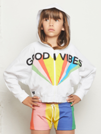 YPORQUE / Good vibes dolman hoodie