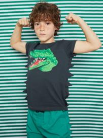 YPORQUE / Crocodile spines 't shirt