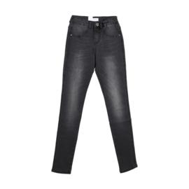 GRUNT / Donkere stonewash skinny meiden-jeans
