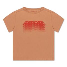 REPOSE / Tee shirt butterscotch