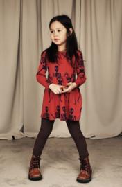 MINI RODINI /  Skeleton dress