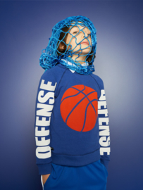 "YPORQUE / Sweater ""Basket textured"""
