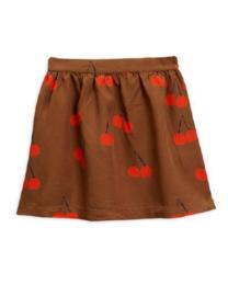 MINI RODINI / Cherry woven skirt