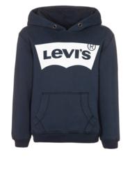 "LEVI's / Blauwe hoody met ""Levi's"""