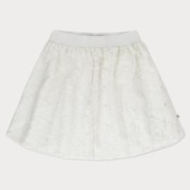 REPOSE / Midi lace skirt spring