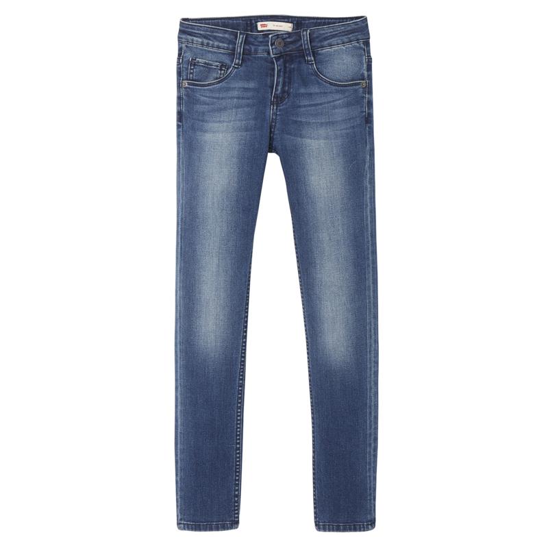 LEVI'S /  Skinny blue jeans, 710, GIRLS