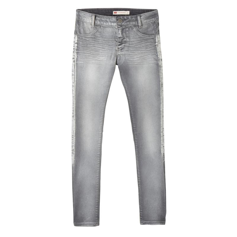 """LEVI'S /  Skinny grijze meiden jeans """"710"""", GIRLS"""