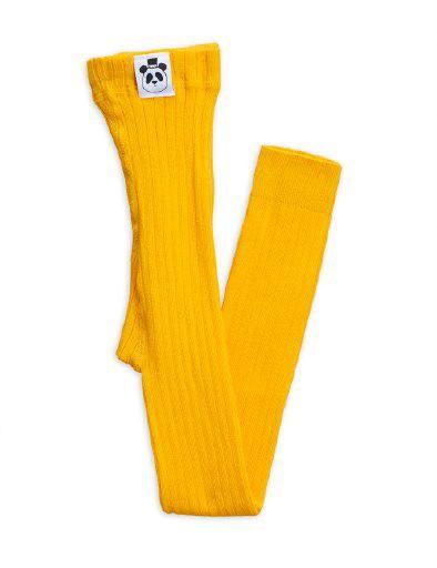 MINI RODINI / Ribbed leggings