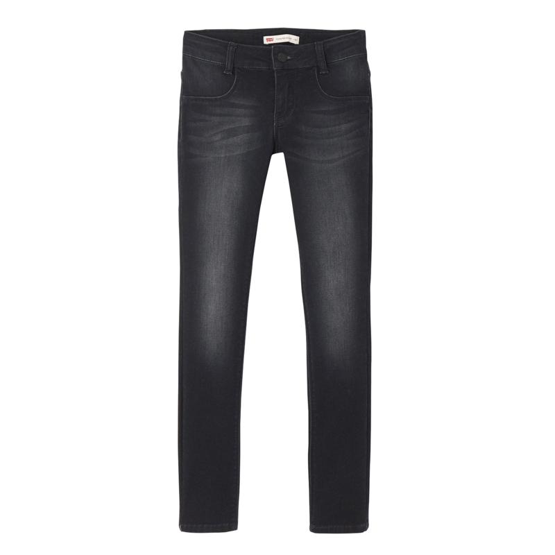 LEVI'S /  Skinny donkere grijze jeans, 710, GIRLS