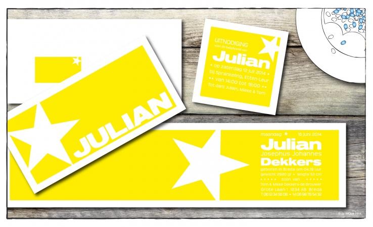 Julian geboortepost