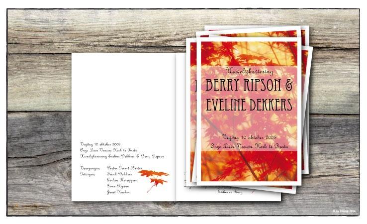 Berry & Eveline kerkboekje