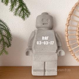 Lego poppetjes XL - beton NIEUW!