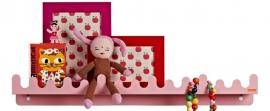 Roommate doodle drop roze
