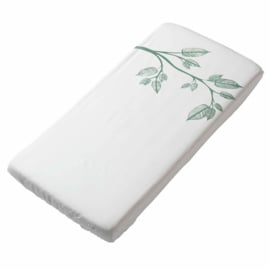 Witlof for kids - hoeslaken Beleaf Sage Green - 60 x 120 cm