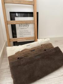 STUDIO.DAI | Mombag teddy shopper tas | totebag | luiertas | bruin