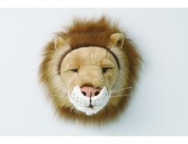 Wild & Soft  dierenkop leeuw Cesar
